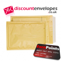 Padded Bubble Peel and Seal Gold 260×180mm