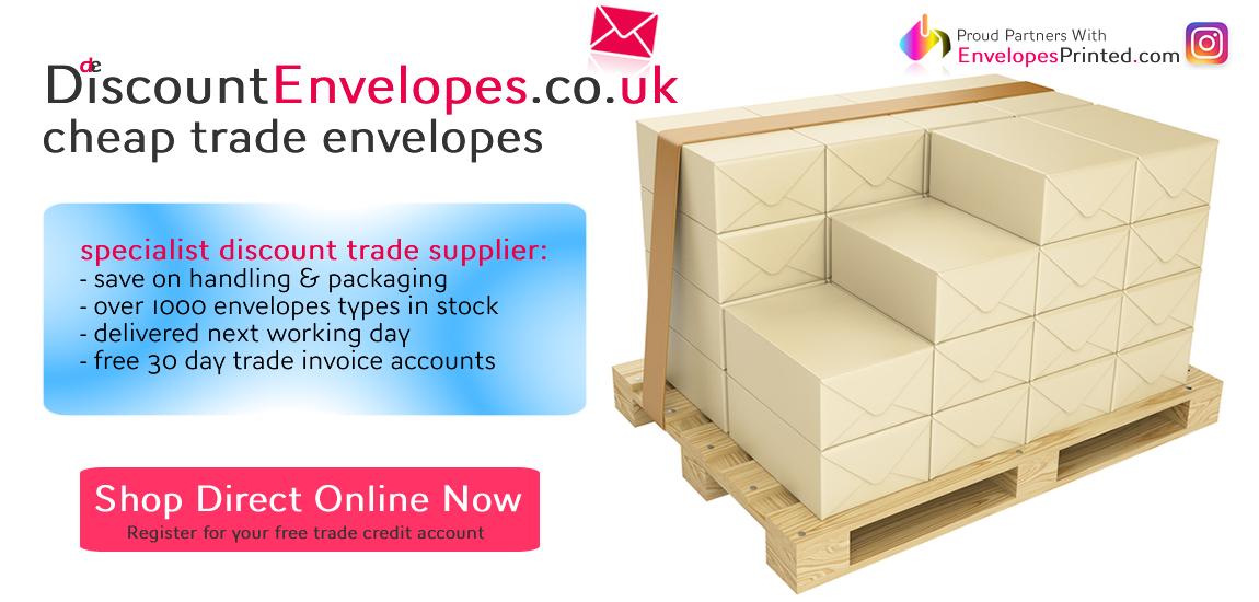 Cheap Trade Envelopes