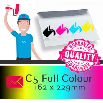 C5 Printed Full Colour