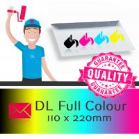 DL Printed Full Colour