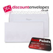 Wallet Peel and Seal Ice White Wove DL 110×220mm 120gsm