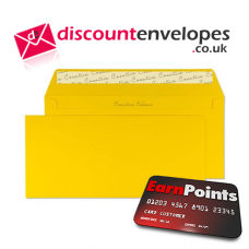 Wallet Peel and Seal Egg Yellow DL+ 114×229mm 120gsm