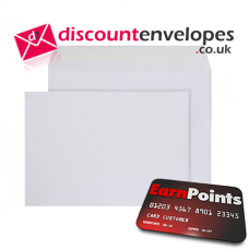Wallet Peel and Seal White C5- 155×220mm 100gsm