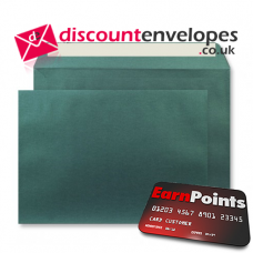 Wallet Peel and Seal Forest Green C5 162×229mm 120gsm