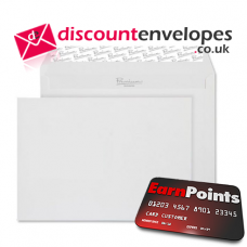 Wallet Peel and Seal High White Wove C5 162×229mm 120gsm