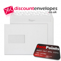 Wallet Peel and Seal Window High White Wove C5 162×229mm 120gsm