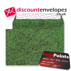 Wallet Peel and Seal Fresh Mown Grass C5 162×229mm 135gsm