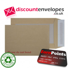 Board Back Pocket Peel and Seal Manilla C5 229×162mm 120gsm