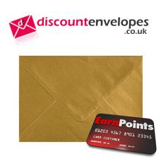 Wallet Gummed Gold C5 162×229mm 100gsm