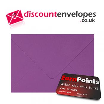 Wallet Gummed Purple C5 162×229mm 100gsm