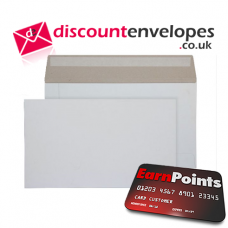 All Board Wallet Peel and Seal White Board 175×305mm 350gsm 500µm