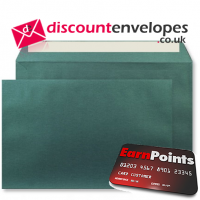 Wallet Peel and Seal Forest Green C4 324×229mm 120gsm
