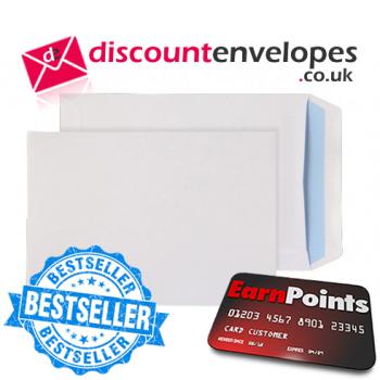 Pocket Self Seal White C5+ 240×165mm