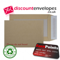 Board Back Pocket Peel and Seal Manilla C5+ 240×165mm 120gsm