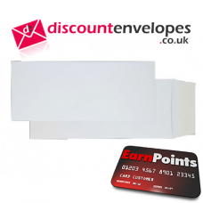 Card Pocket Peel and Seal Ultra White Card Half C4 305×127mm 210gsm 280µm
