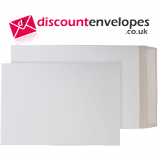 All Board Pocket Peel and Seal White B4 352×250mm 350gsm