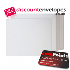 All Board Pocket Peel and Seal White Board C3 450×324mm 350gsm 500µm