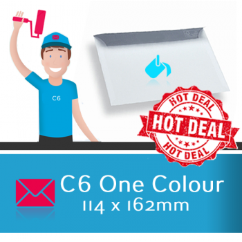 C6 Printed 1 Colour