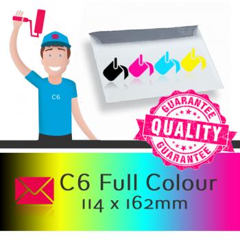 C6 Printed Full Colour