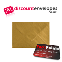 Wallet Gummed Gold C7 82x113mm 100gsm