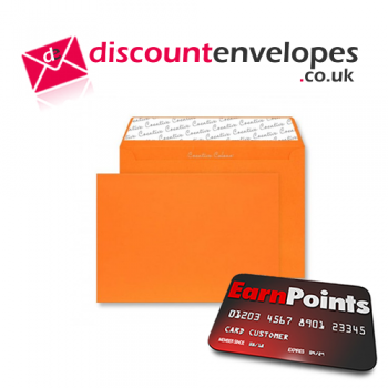 Wallet Peel and Seal Pumpkin Orange C6 114×162mm 120gsm
