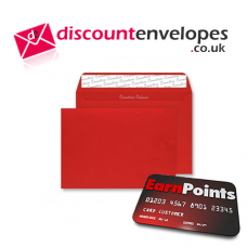 Wallet Peel and Seal Pillar Box Red C6 114×162mm 120gsm
