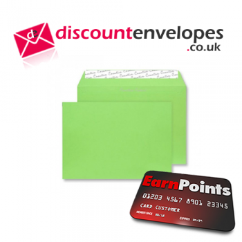 Wallet Peel and Seal Lime Green C6 114×162mm 120gsm