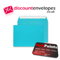 Wallet Peel and Seal Cocktail Blue C6 114×162mm 120gsm