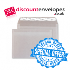 Wallet Peel and Seal Translucent White C6 114×162mm 110gsm