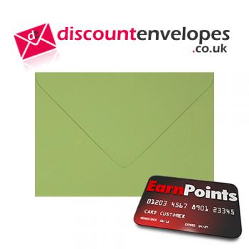 Wallet Gummed Lime C6 114×162mm 100gsm