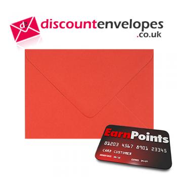 Wallet Gummed Poppy C6 114×162mm 100gsm