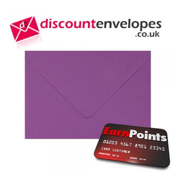 Wallet Gummed Purple C6 114×162mm 100gsm
