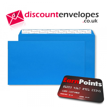 Wallet Peel and Seal Caribbean Blue DL+ 114×229mm 120gsm
