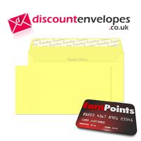 Wallet Peel and Seal Lemon Yellow DL+ 114×229mm 120gsm
