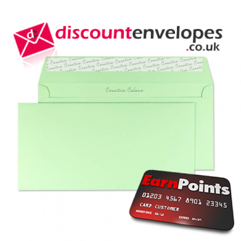 Wallet Peel and Seal Spearmint Green DL+ 114×229mm 120gsm
