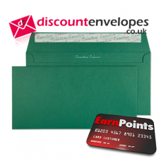 Wallet Peel and Seal British Racing Green DL+ 114×229mm 120gsm