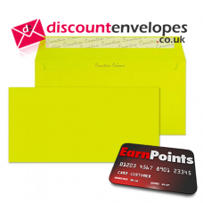 Wallet Peel and Seal Acid Green DL+ 114×229mm 120gsm