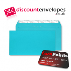 Wallet Peel and Seal Cocktail Blue DL+ 114×229mm 120gsm