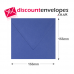 Square Banker Invitation Gummed Iris 155×155mm 100gsm