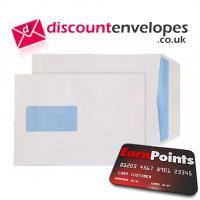 Pocket Gummed Window White C5 229×162mm 90gsm