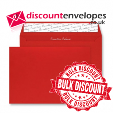 Wallet Peel and Seal Pillar Box Red C5 162×229mm 120gsm