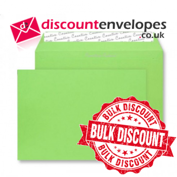 Wallet Peel and Seal Lime Green C5 162×229mm 120gsm