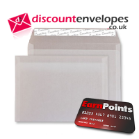 Wallet Peel and Seal Translucent White C5 162×229mm 110gsm