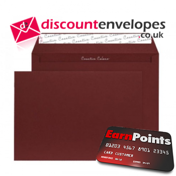 Wallet Peel and Seal Bordeaux C5 162×229mm 120gsm