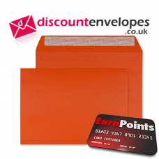 Wallet Peel and Seal Marmalade Orange C5 162×229mm 120gsm