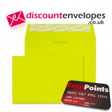 Wallet Peel and Seal Acid Green C5 162×229mm 120gsm