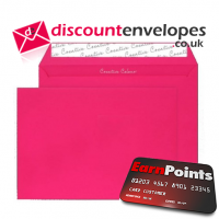 Wallet Peel and Seal Shocking Pink C5 162×229mm 120gsm