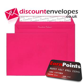 Wallet Peel and Seal Shocking Pink C5 162×229mm 120gsm