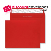 Wallet Peel and Seal Pillar Box Red 220x220mm 120gsm