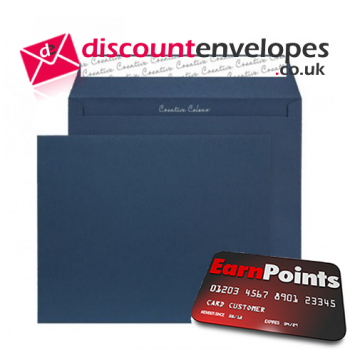 Wallet Peel and Seal Oxford Blue 220 x 220mm 120gsm